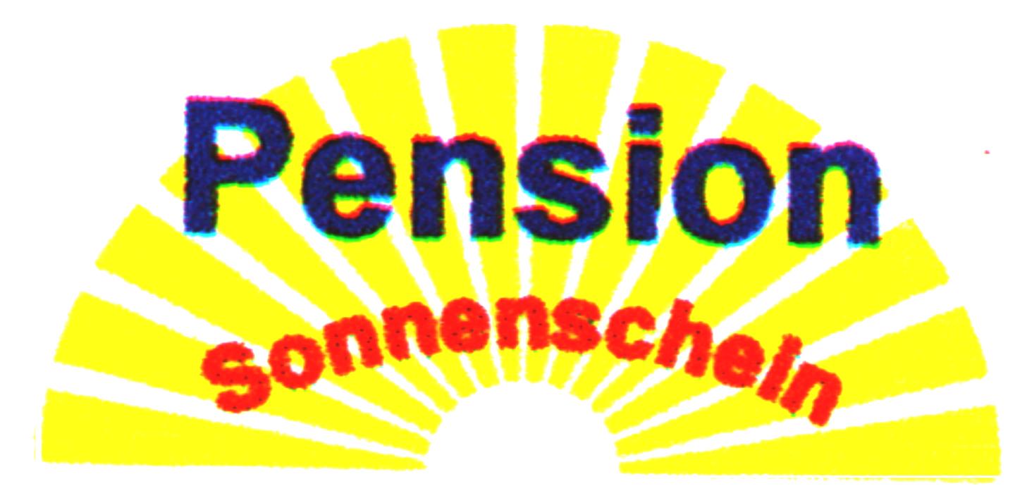 """Logo von Pension """"Sonnenschein"""""""