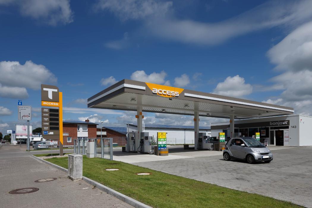 Bild der Access Tankstelle