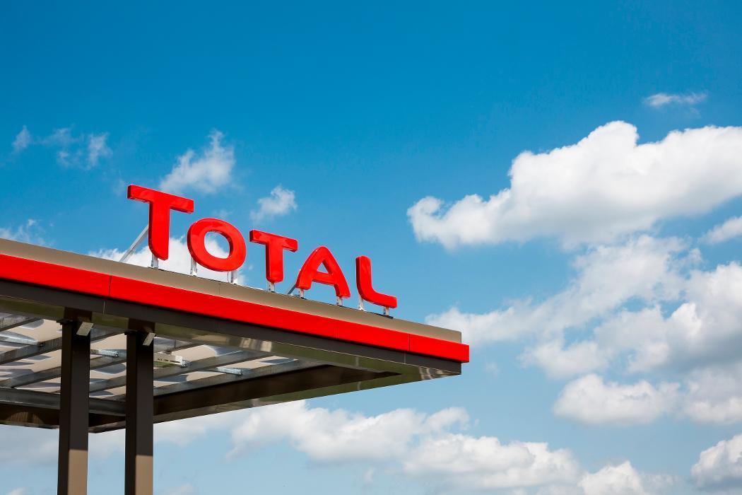 Bild der TOTAL Tankstelle