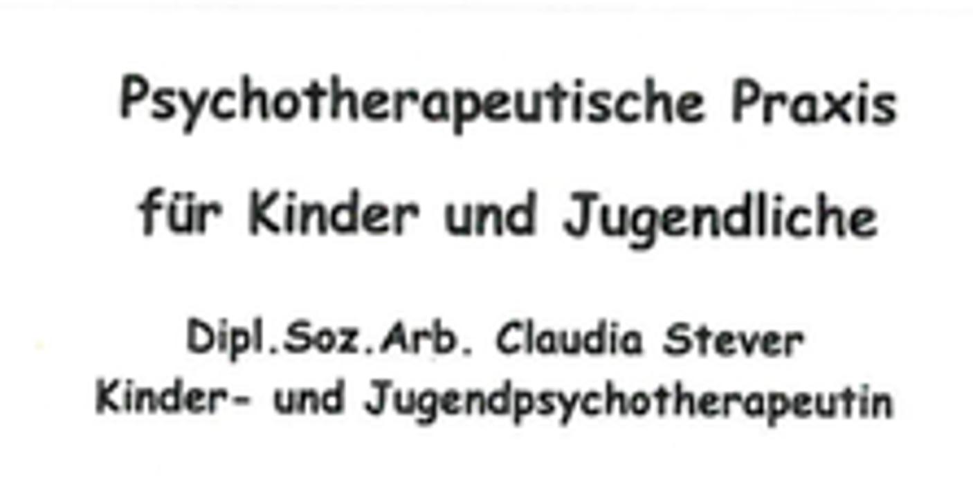 Bild zu Psychotherap. Praxis für Kinder und Jugendliche Dipl.-Soz.-Arb. Claudia Stever in Sankt Georgen im Schwarzwald