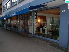 Wohn-Design Blau