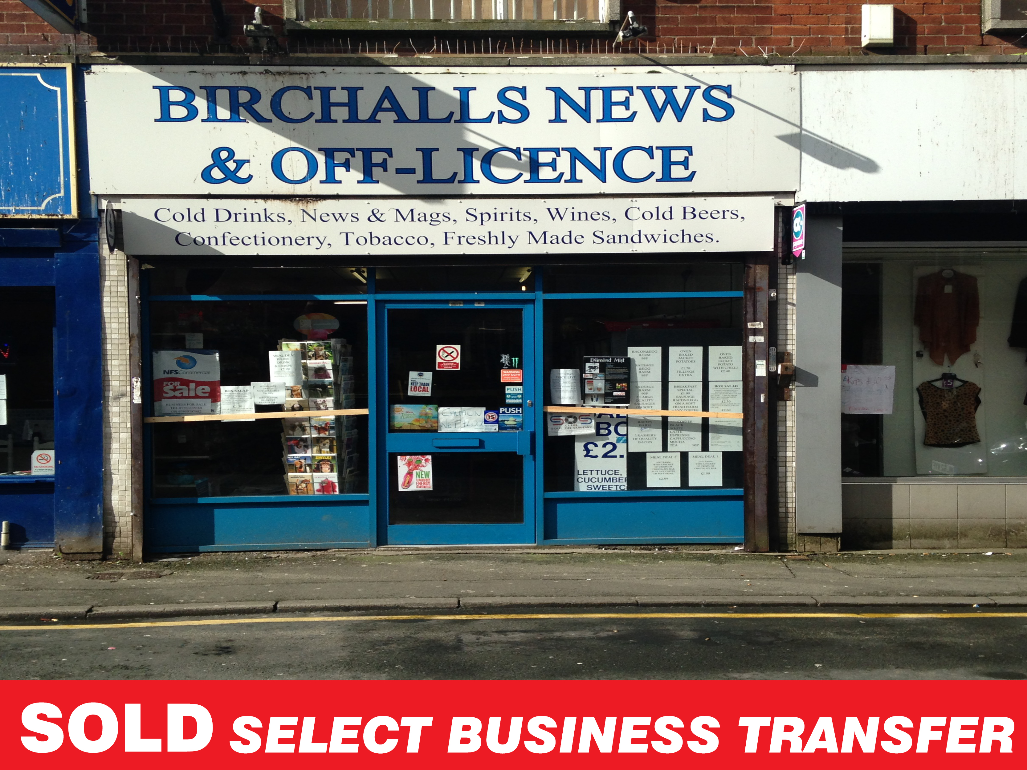 Select Business Transfer