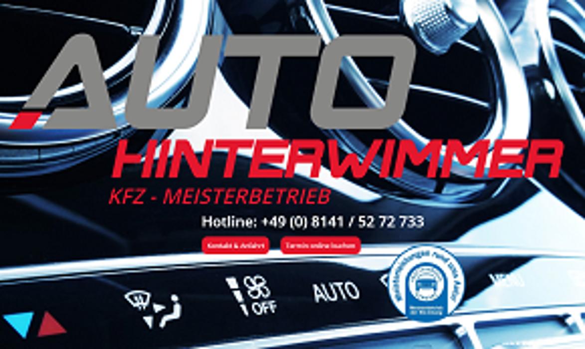 Logo von Auto Hinterwimmer