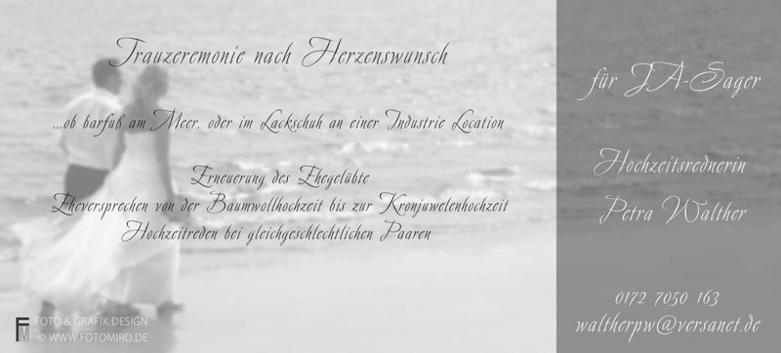 Bild zu Freie Trauungen Hochzeitsrednerin in Recklinghausen