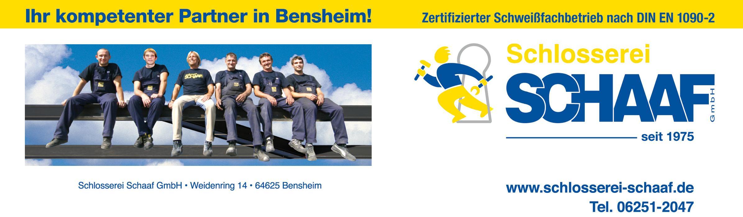 Bild zu Schlosserei Schaaf GmbH in Bensheim