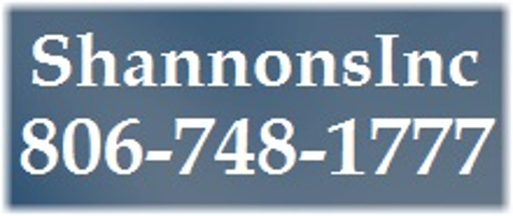ShannonsInc - Lubbock, TX
