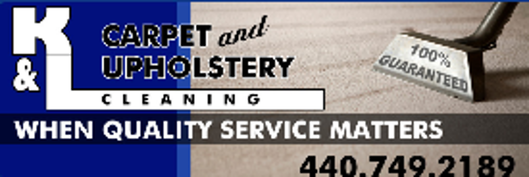 K & L Carpet and Upholstery Cleaning - Cleveland, OH