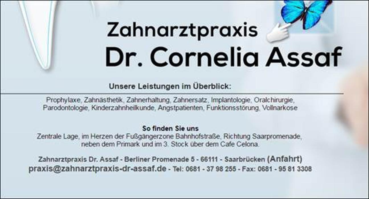 Logo von Dr. Cornelia Assaf Zahnärztin