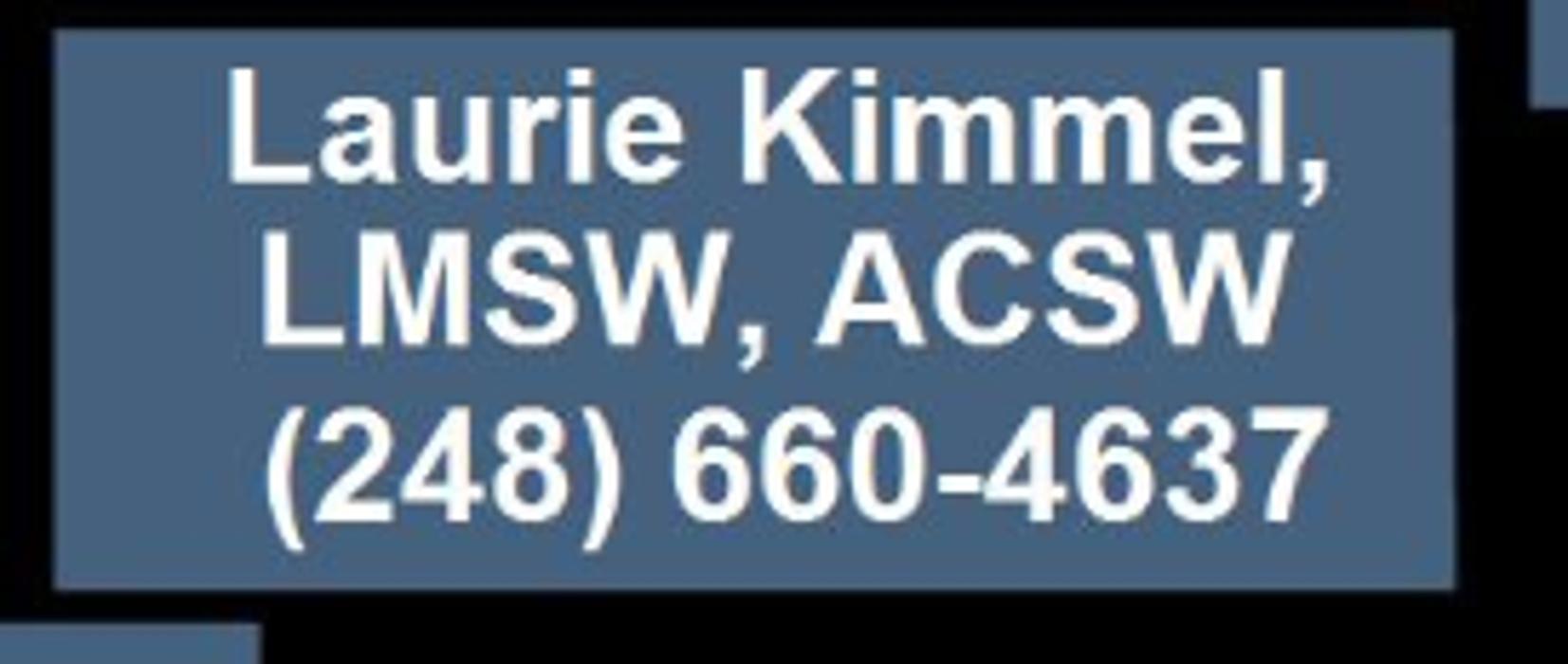 Laurie Kimmel, LMSW, ACSW - West Bloomfield, MI