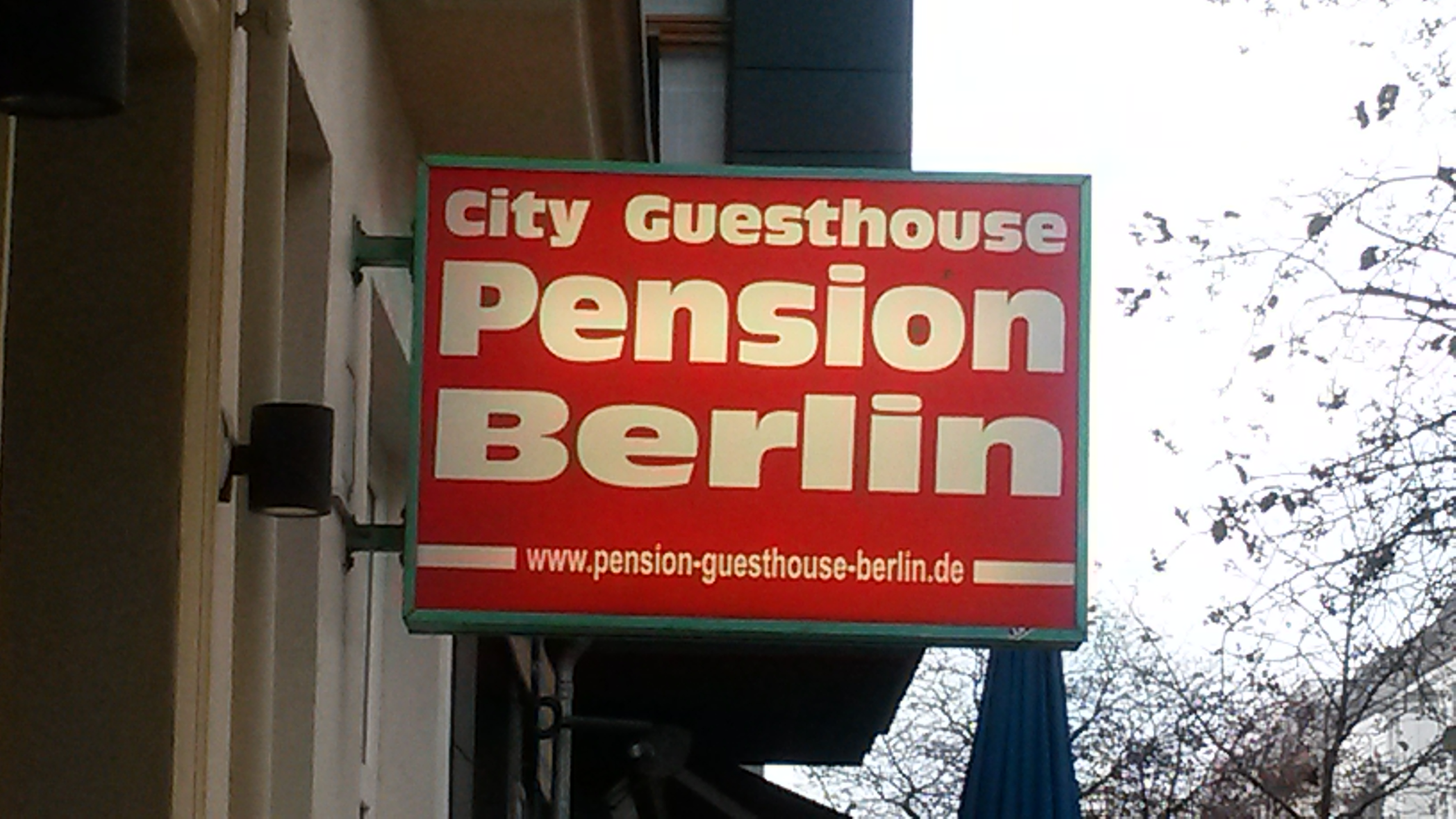 City Guesthouse Pension Berlin und Cafe Restaurant Shan Shan