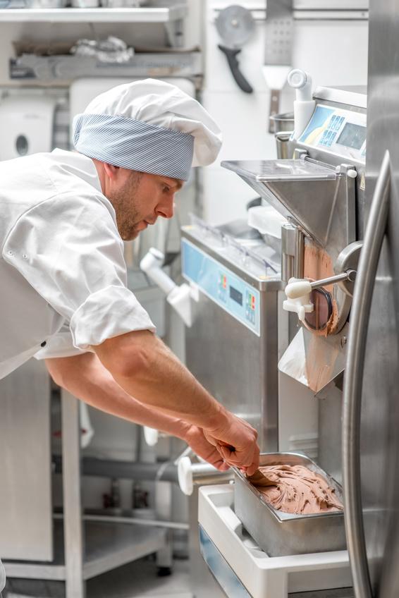 Meca Froid machines à glace Italienne