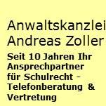 Anwaltskanzlei Zoller - Schulrecht