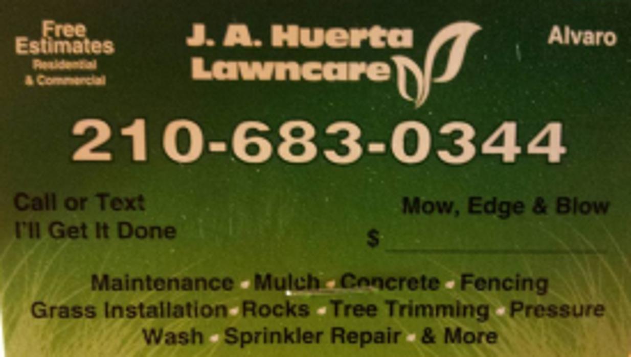 JA Huerta Lawncare - San Antonio, TX