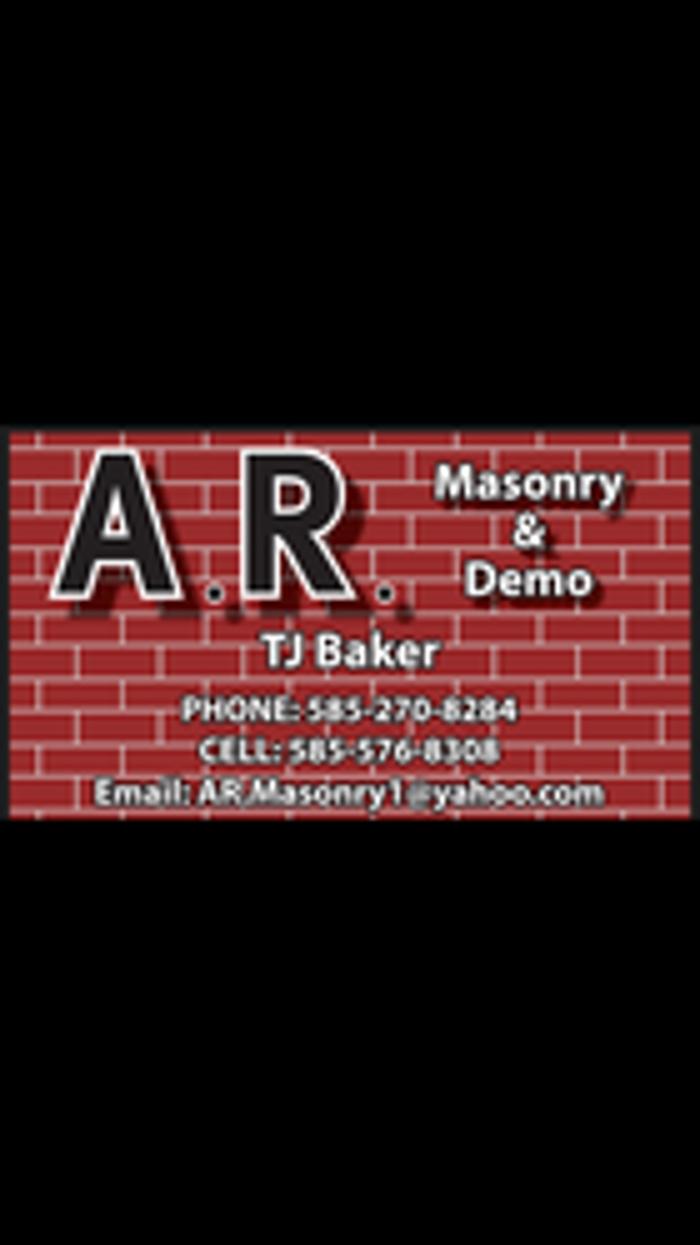 A.R. Masonry & Demo - Rochester, NY