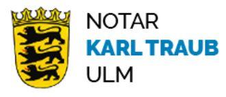 Notar Karl Traub