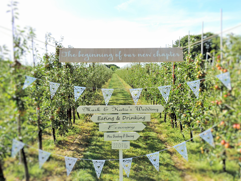 Im & Er Wedding Signs - Barham, Kent CT4 6PP - 07525 745418 | ShowMeLocal.com