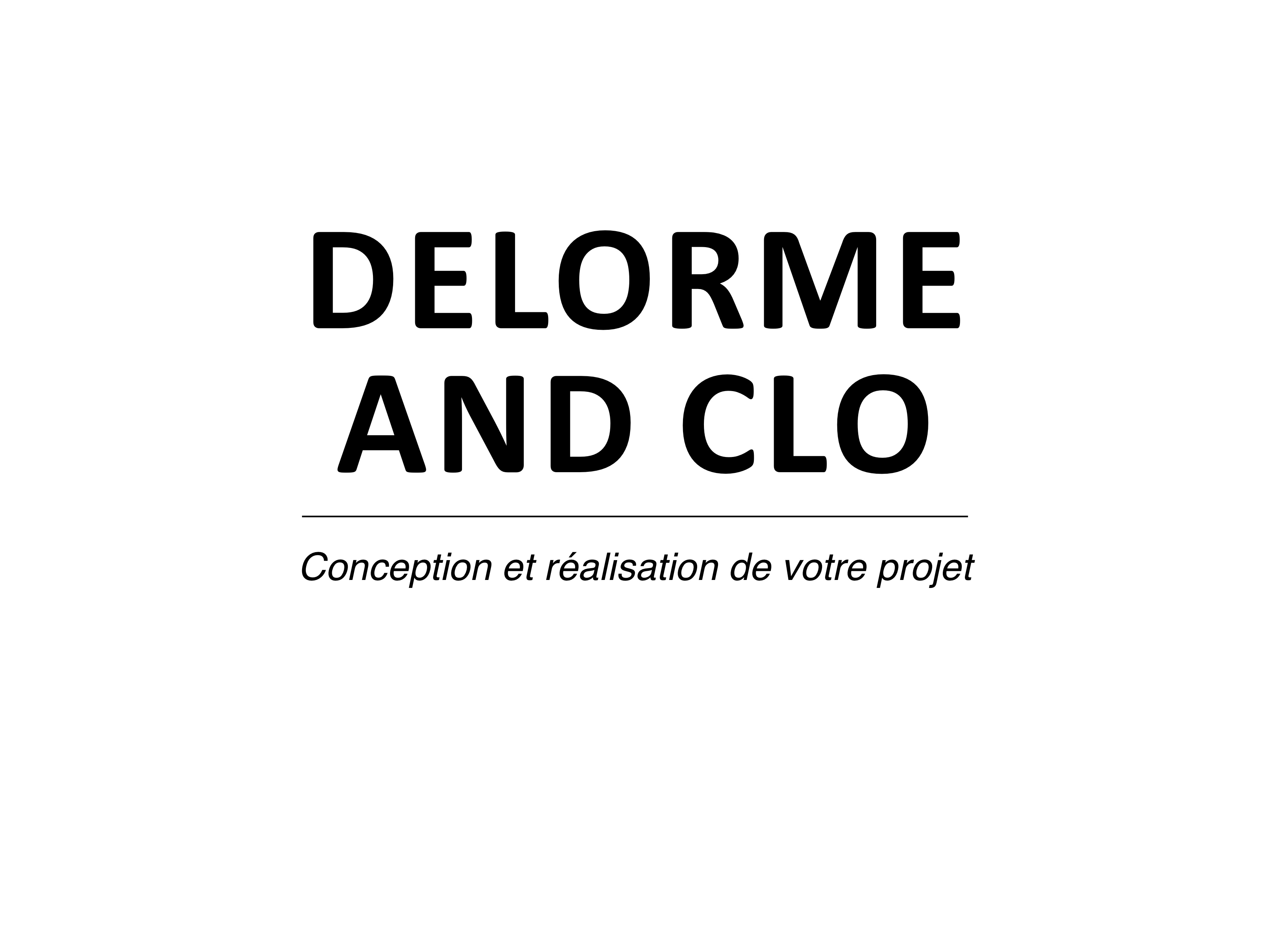 L'agence DELORME AND CLO