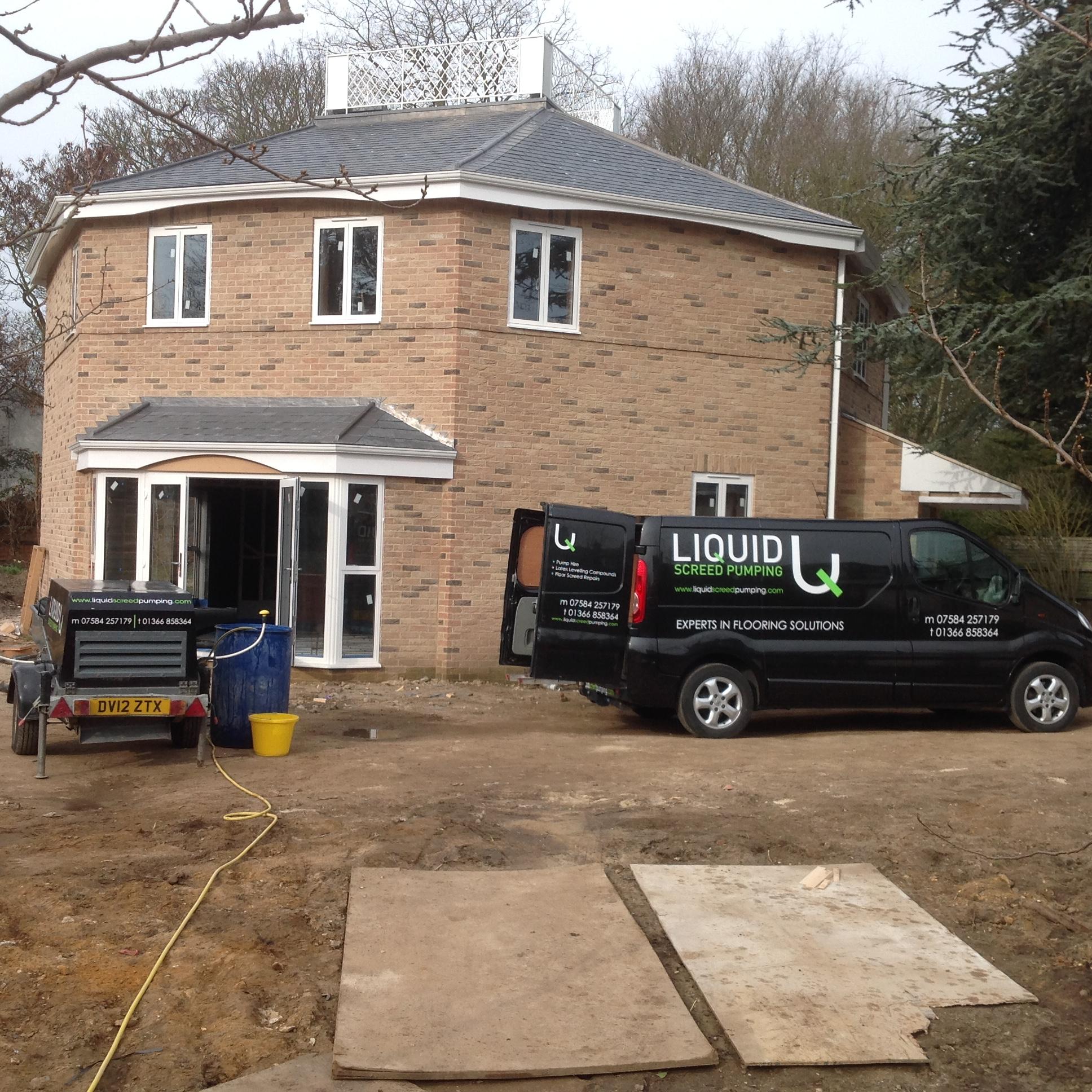 Liquid Screed Pumping - Hilgay, Norfolk PE38 0QE - 01366 858364 | ShowMeLocal.com
