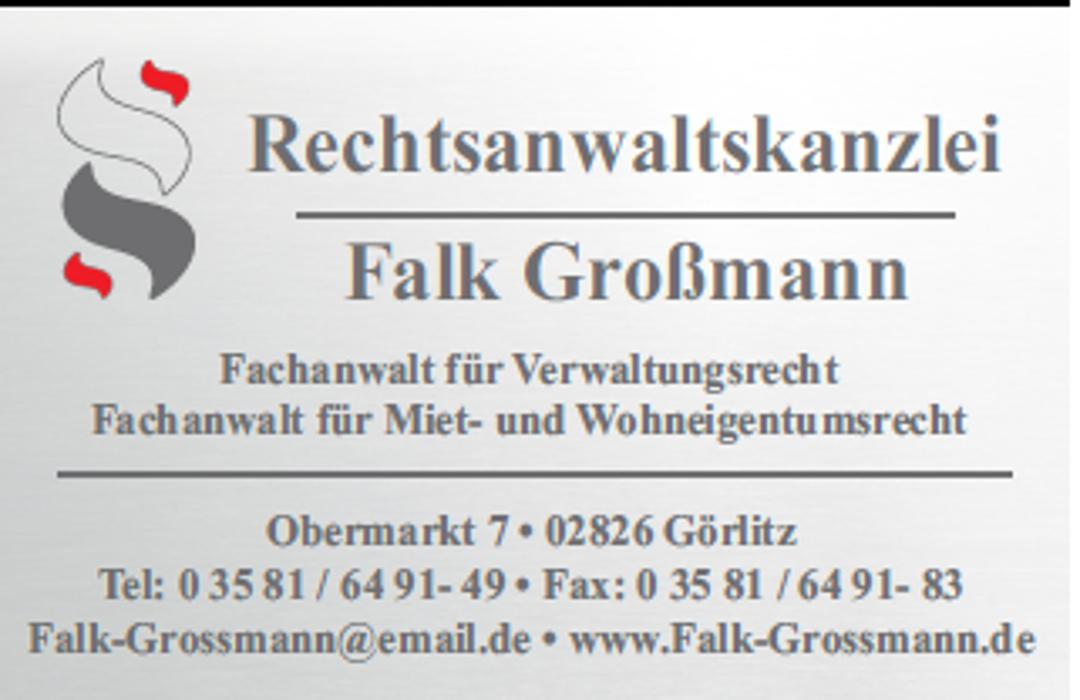 Bild zu Rechtsanwalt Falk Großmann in Görlitz