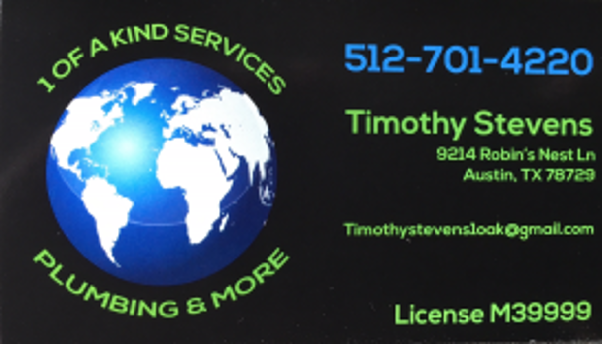 1 Of A Kind Services Plumbing & More - Austin, TX