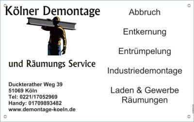 Kölner Demontage und Räumungs Service UG (haftungsbeschränkt)