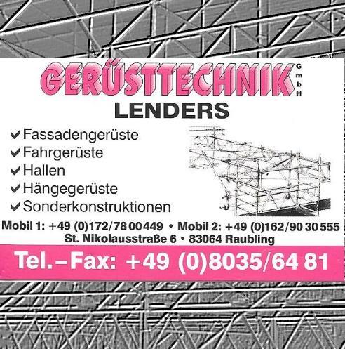 Lenders Gerüsttechnik GmbH