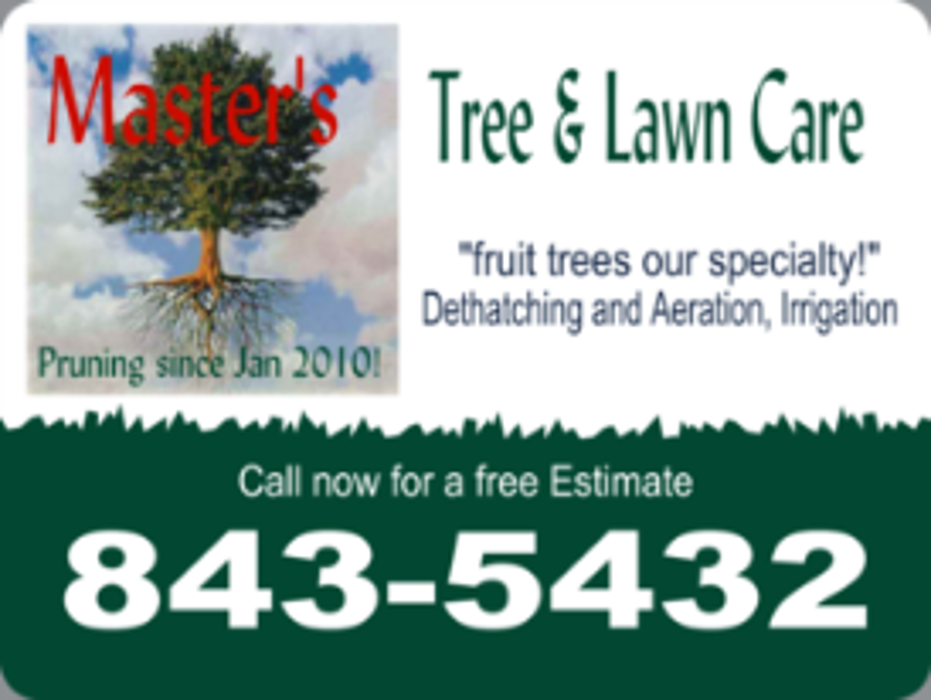 Master's Tree And Lawn Care - Reno, NV
