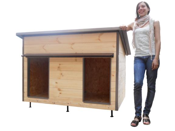 niches pour chiens ct mob fabrication de niches pour chiens animalerie d tail gap. Black Bedroom Furniture Sets. Home Design Ideas