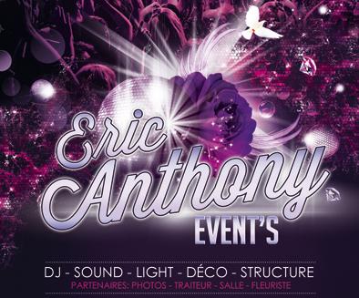 Eric ANTHONY Event's