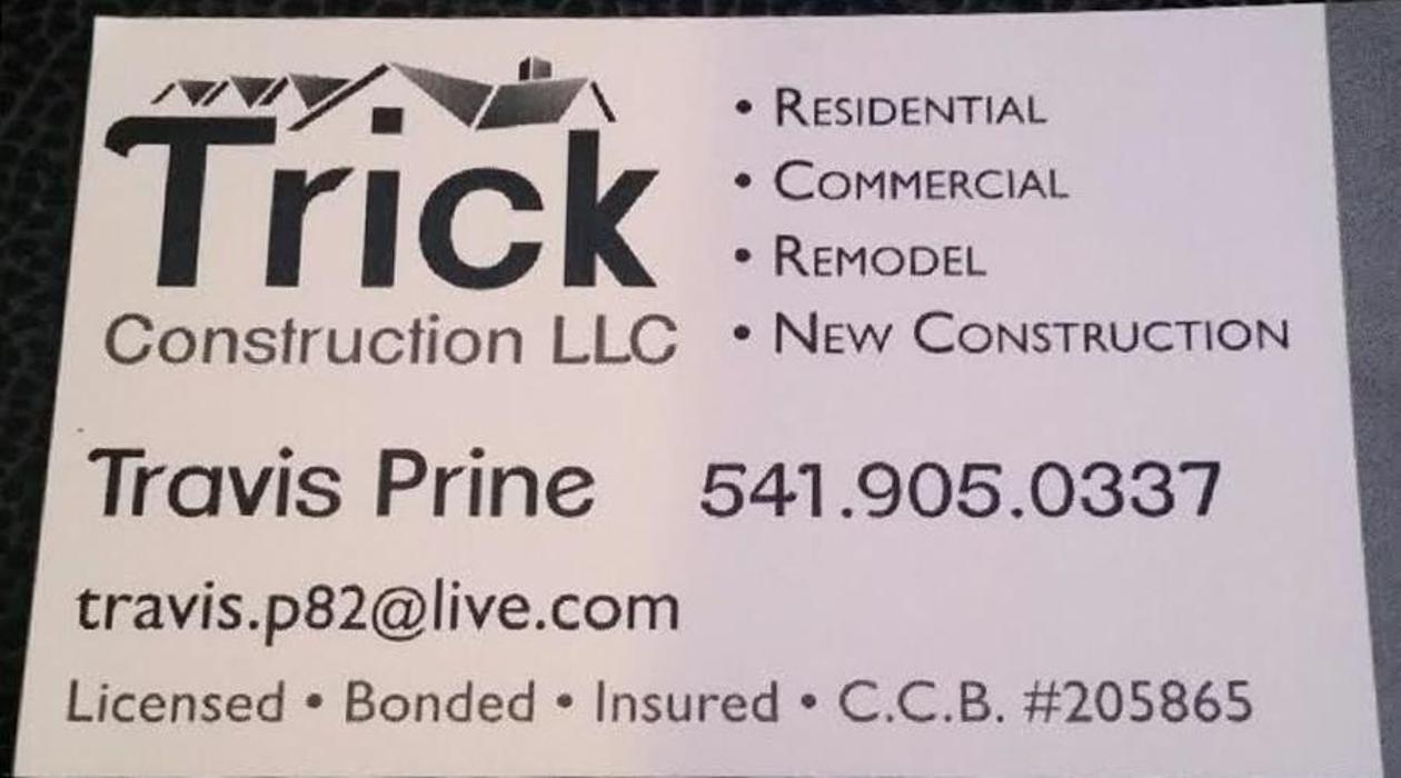 Trick Construction, LLC - Springfield, OR