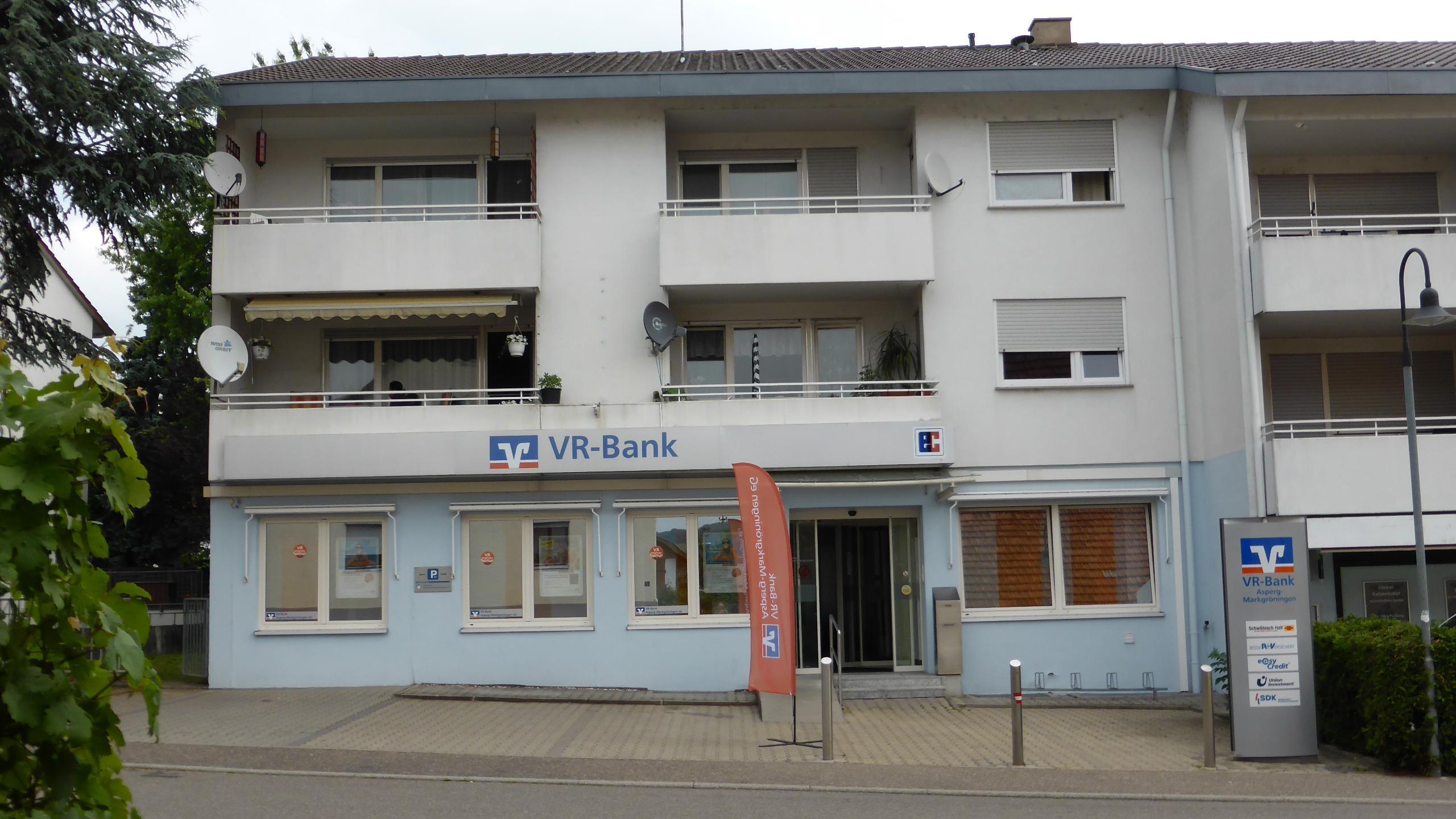 Vr Bank Asperg Markgroningen Eg Geschaftsstelle Oberriexingen Oberriexingen Albertstrasse 4 Offnungszeiten Angebote