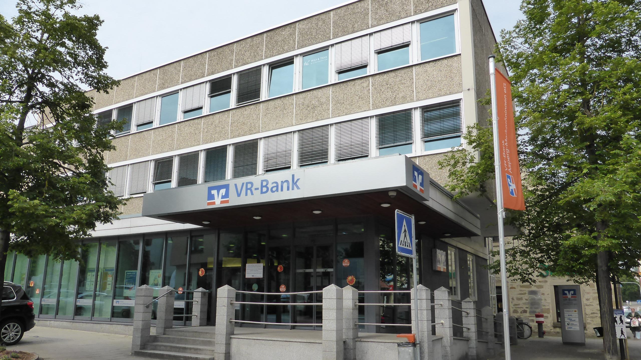 Vr Bank Asperg Markgroningen Eg Geschaftsstelle Schwieberdingen Schwieberdingen Bahnhofstrasse 2 Offnungszeiten Angebote