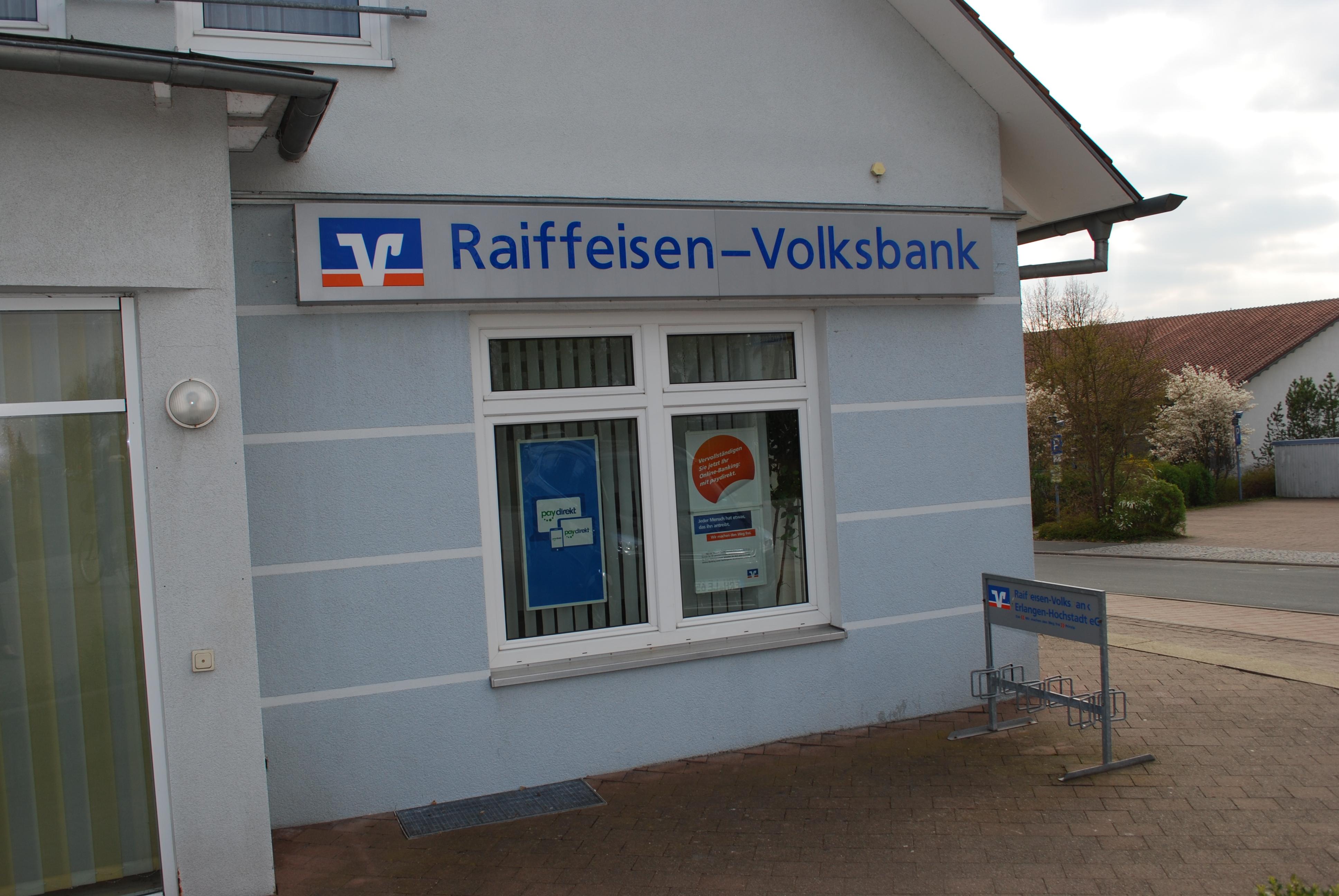 VR-Bank Erlangen-Höchstadt-Herzogenaurach eG - SB-Filiale Höchstadt-Süd