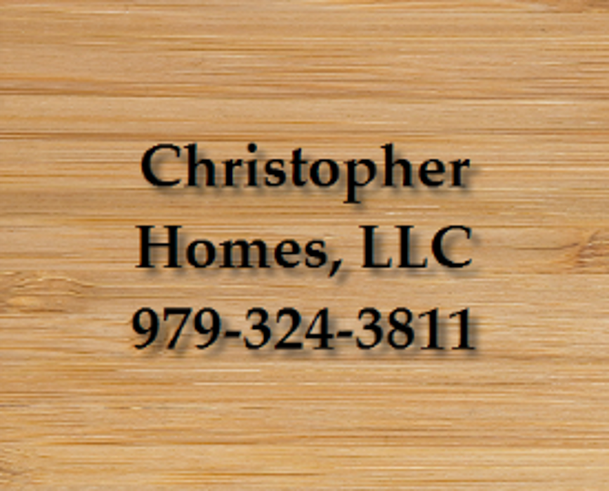 Christopher Homes, LLC - College Station, TX