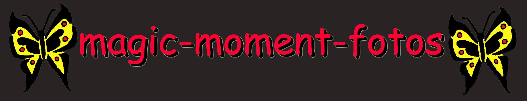 magic moment fotos Logo