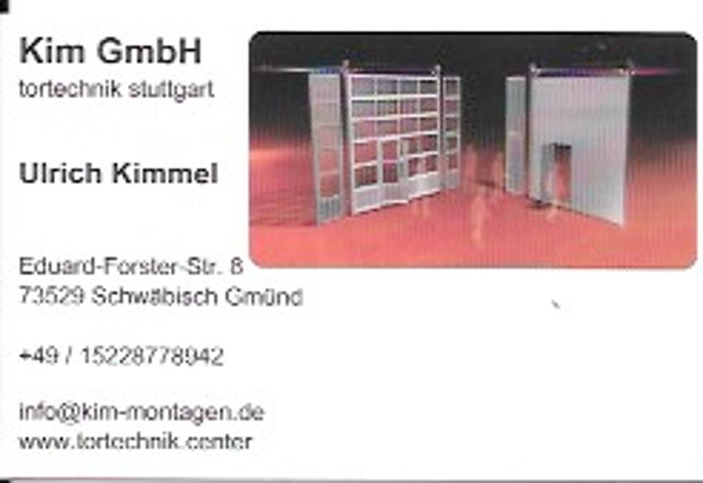 Bild zu tortechnik stuttgart kim GmbH in Schwäbisch Gmünd