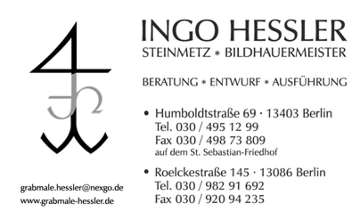 Bild zu Ingo Hessler Steinmetz & Bildhauermeister in Berlin