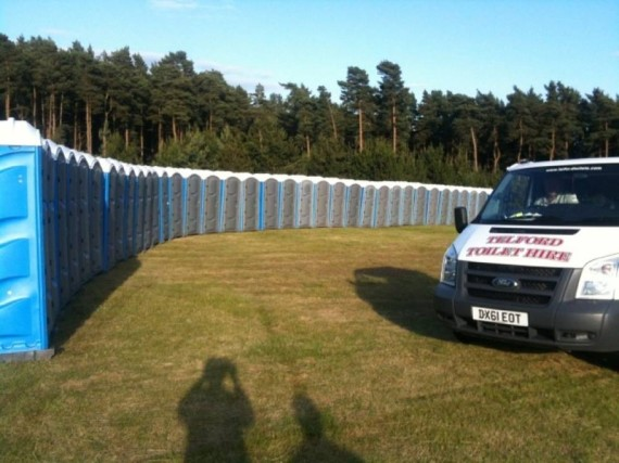 Telford Toilet Hire Trench 01952 613436