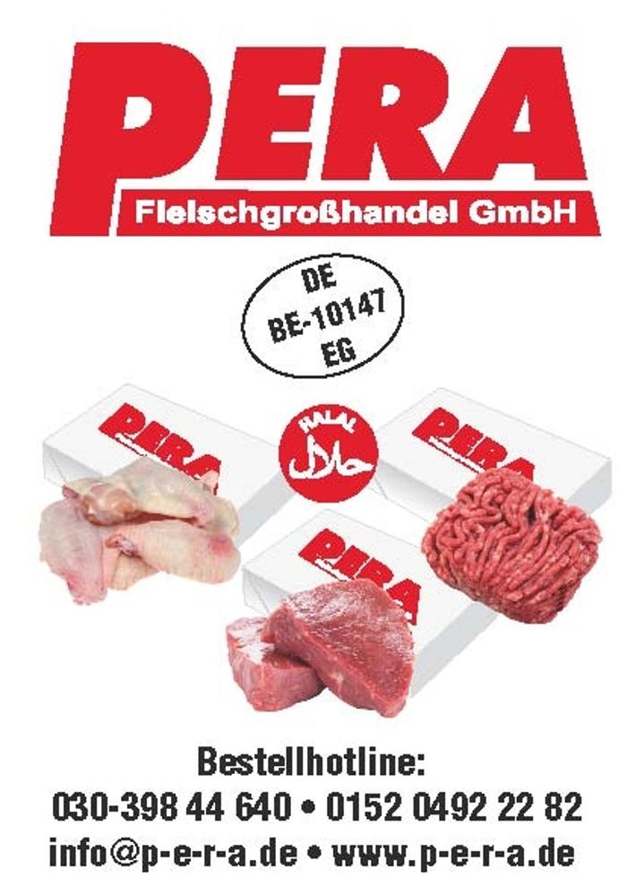 Pera Fleischgroßhandel GmbH, Beusselstraße in Berlin