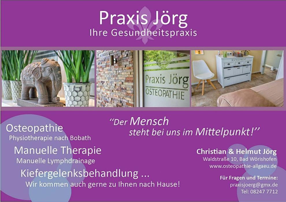 Bild zu Gesundheitspraxis Jörg , Praxis Jörg , Osteopathie, Physiotherapie in Bad Wörishofen