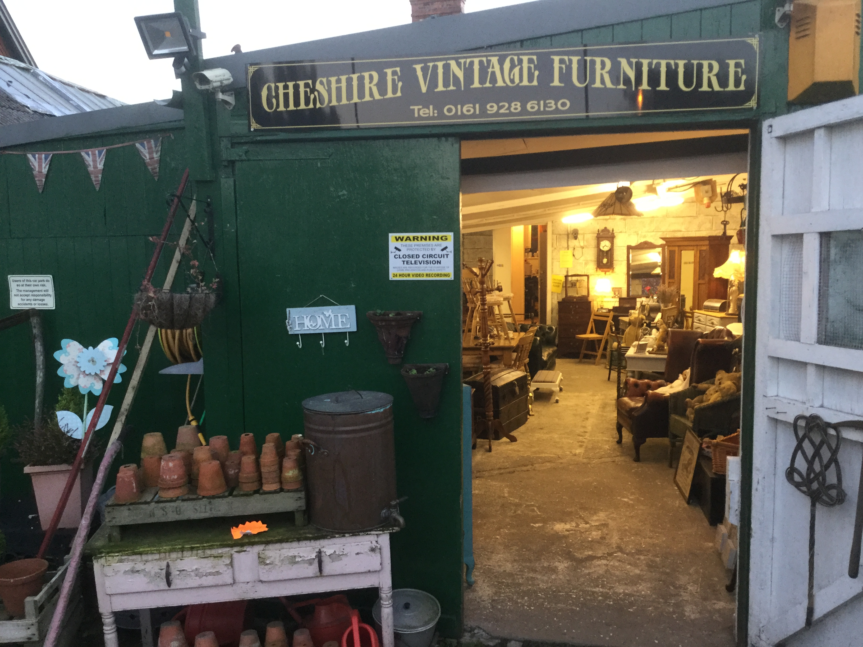 Cheshire vintage furniture