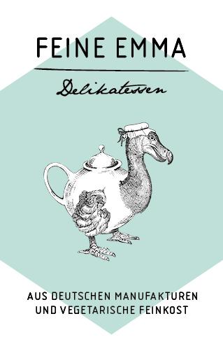 Feine Emma Delikatessen aus deutschen Manufakturen und vegetarische Feinkost Logo