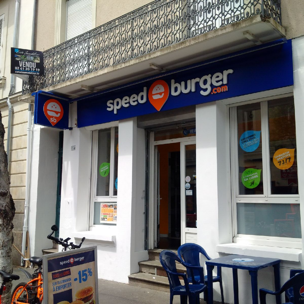 speed burger angers restaurants restauration rapide et libre service angers france t l. Black Bedroom Furniture Sets. Home Design Ideas