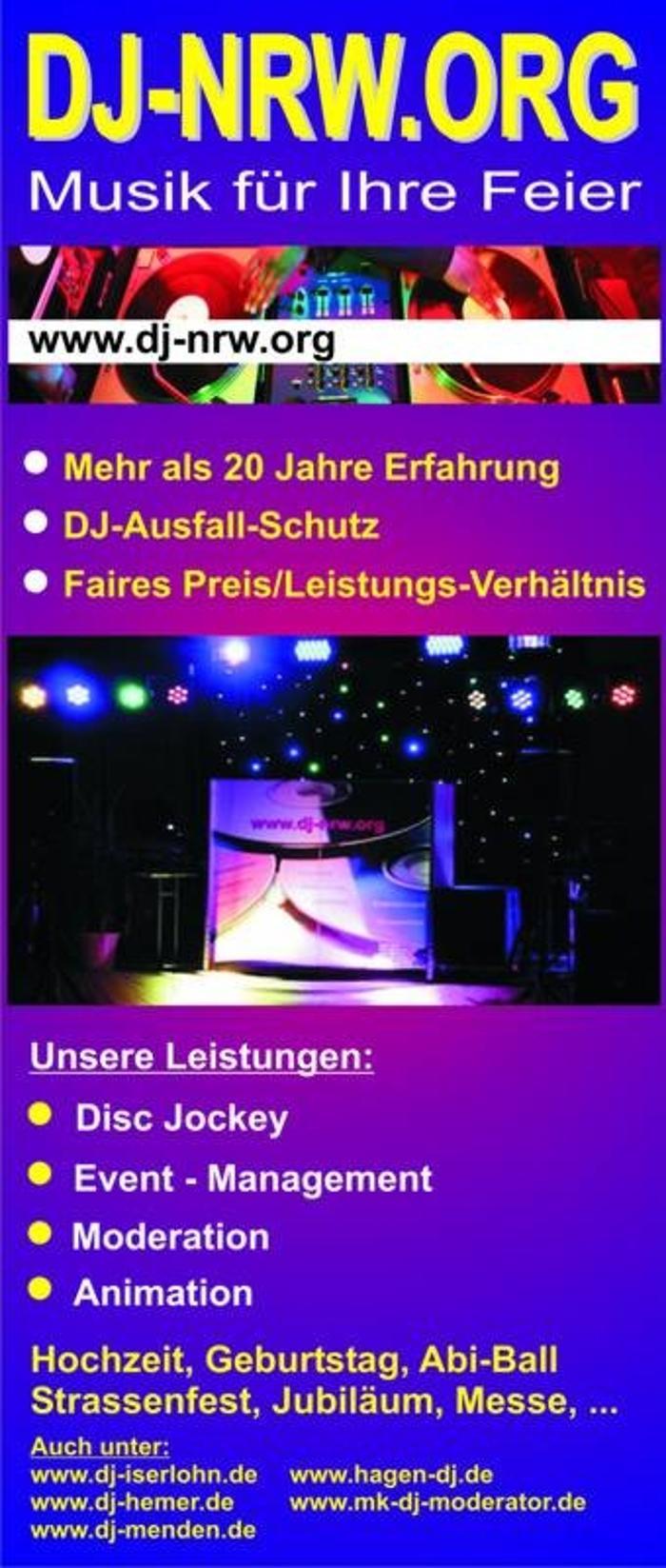 Bild zu DJ-NRW in Iserlohn