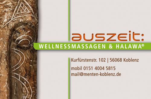 auszeit: Wellnessmassagen & Halawa