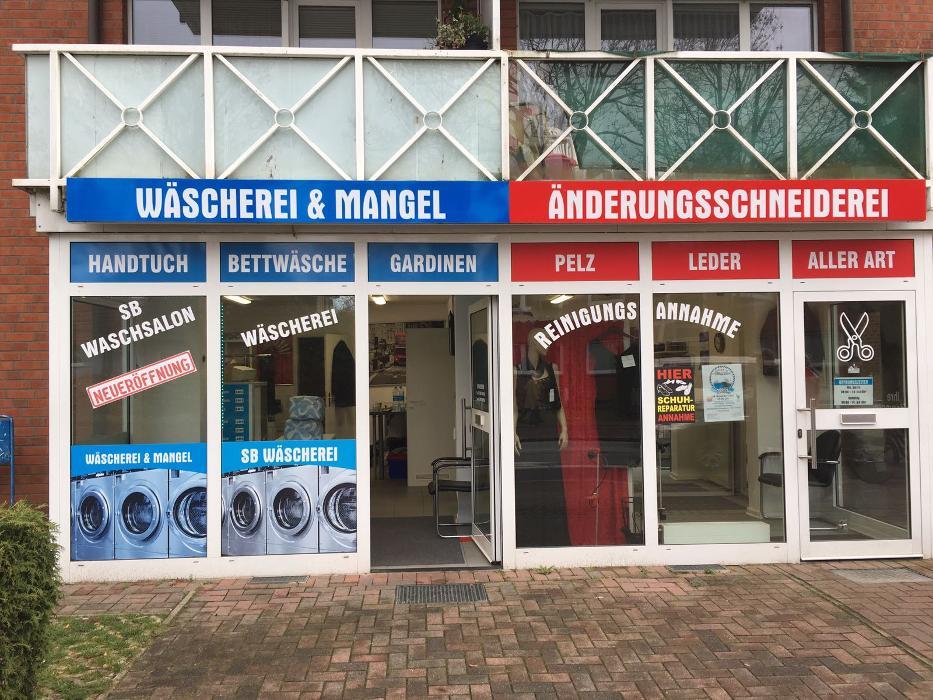 Logo von Wäscherei Mangel&Änderungsschneiderei SB Wäschsalon