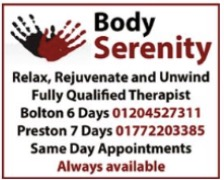 preston massage retreat