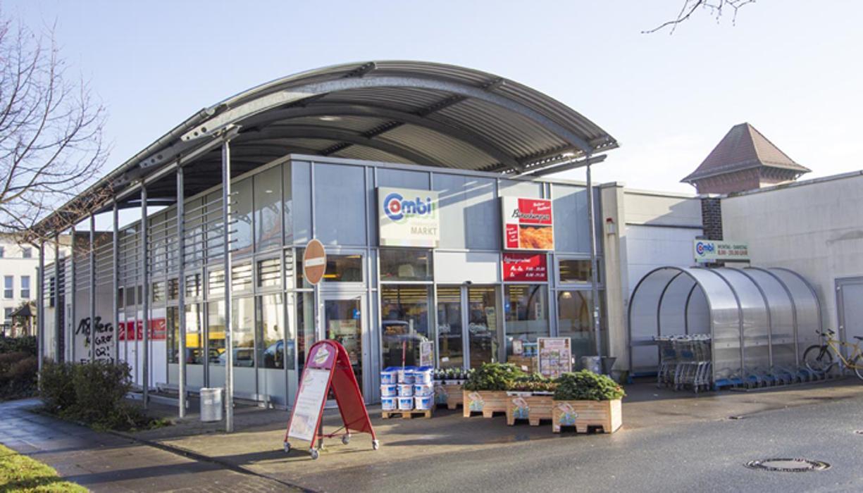 Combi Verbrauchermarkt Bielefeld, Alter Schlachthof, Dr.-Viktoria-Steinbiß-Straße in Bielefeld