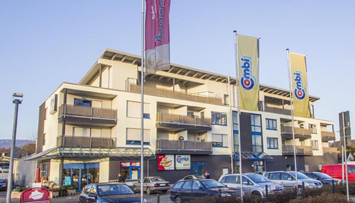 Combi Verbrauchermarkt Bielefeld, Quelle, Borgsen-Allee in Bielefeld