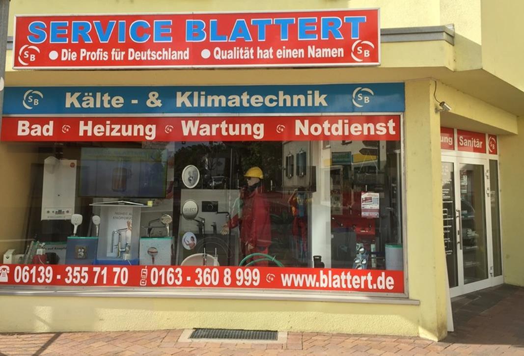 SERVICE BLATTERT
